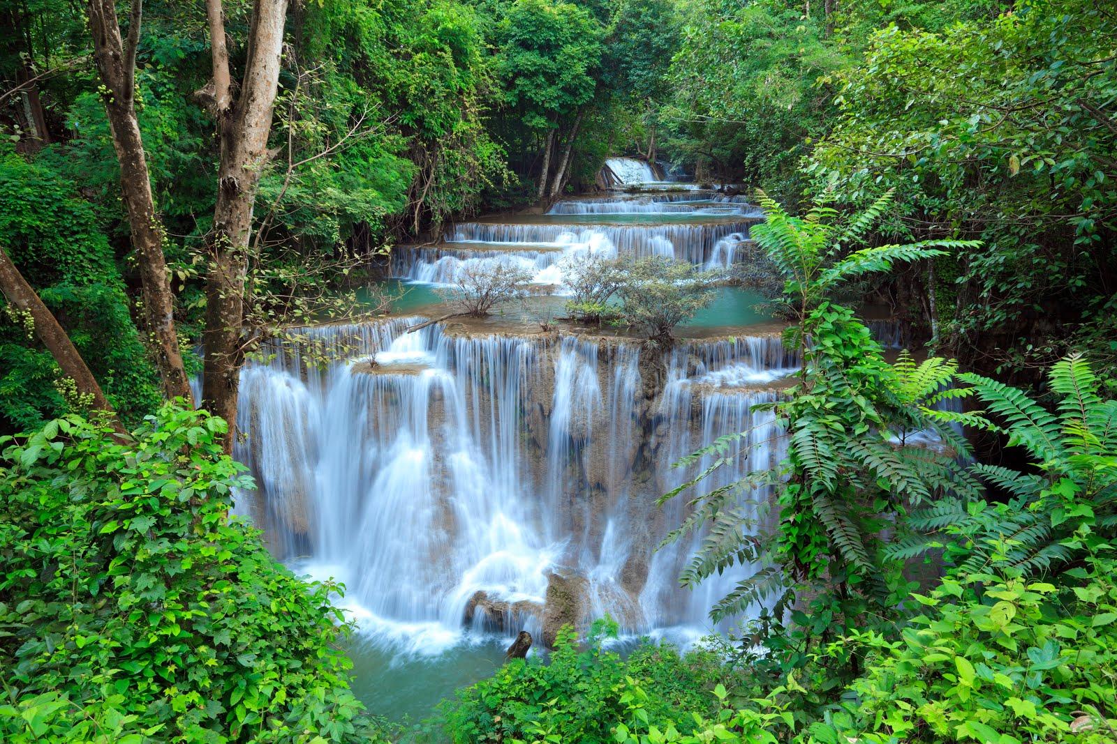 Banco de im genes impresionantes cascadas de aguas for Fotos cascadas