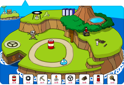 Flash Game Island