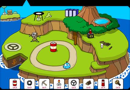 Flash Game Island