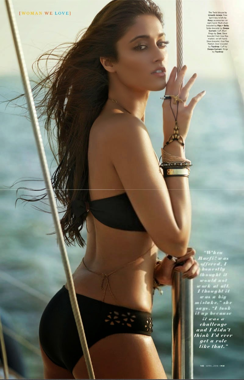 Ileana D'Cruz in Mans World Magazine 3