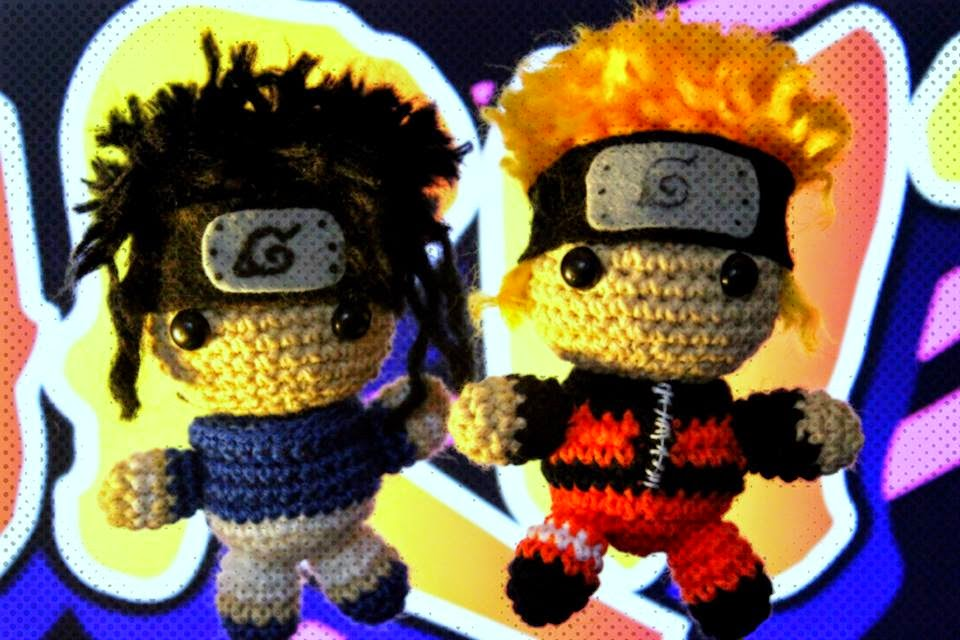 Amigurumi Naruto Pattern : ArtesanDroides: Amigurumi Naruto