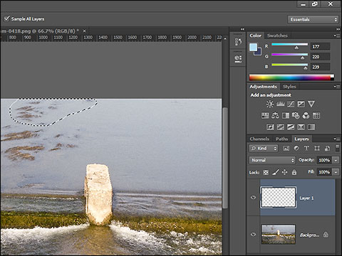 photoshop cc patch tool tutorial