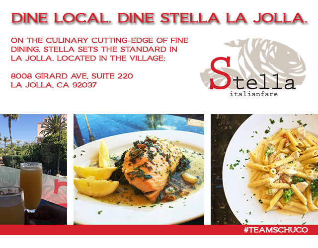 Gourmet Gossip | Stella Italianfare Ocean View Dining in La Jolla