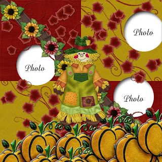 FREEBIE - FALL HARVEST QUICK PAGE