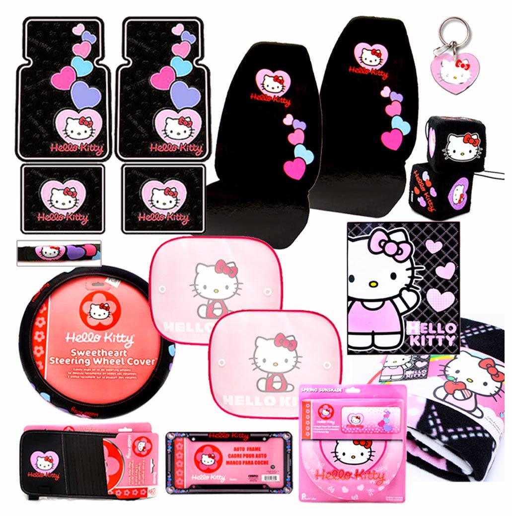 hello kitty seat covers