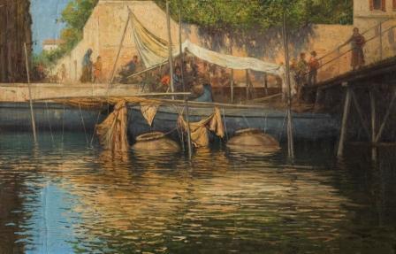 """""""Venecia, puerto pesquero"""" JUAN JOSÉ GÁRATE"""