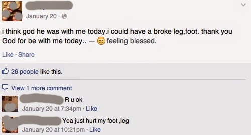broke leg foot facebook