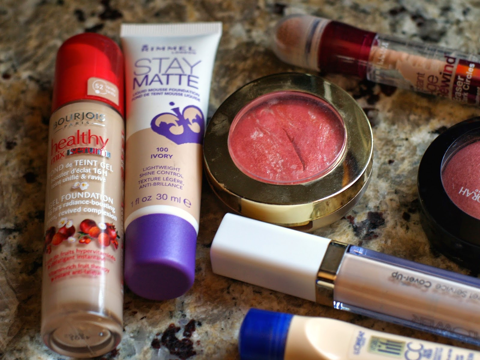 Top 5 Drugstore Face Products