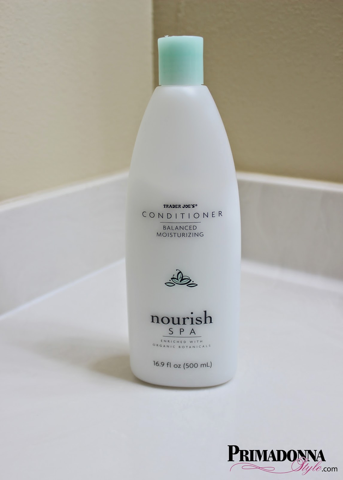 Trader Joe's Conditioner Balanced Moisturizing Nourish Spa