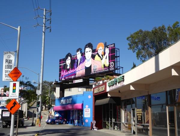 Moonbeam City billboard