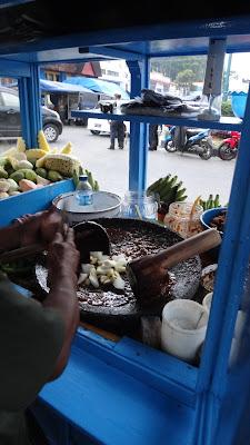 Роджак, уличная еда, Суматра, Индонезия