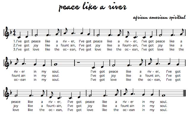 essays on peace like a river