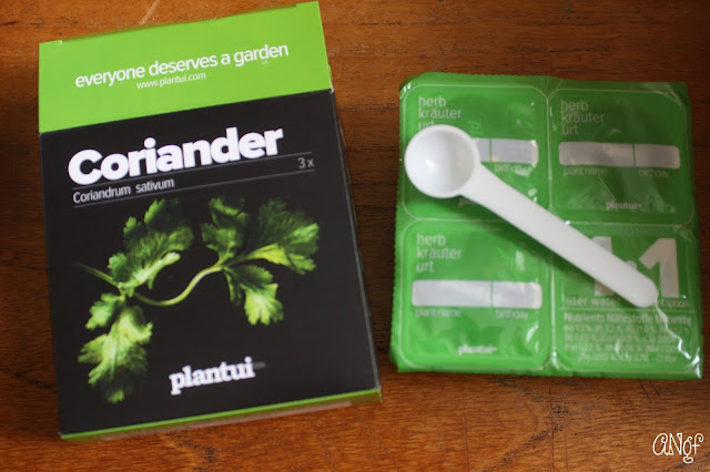 Plantui Coriander Seed Capsules and Nutrients | Anyonita-Nibbles.co.uk