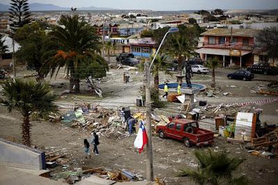 FUERTE REPLICA DE 6,7 GRADOS SACUDE CHILE 21 DE SEPTIEMBRE 2015