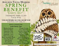 Save The Date:  Audubon Young Members Spring Benefit