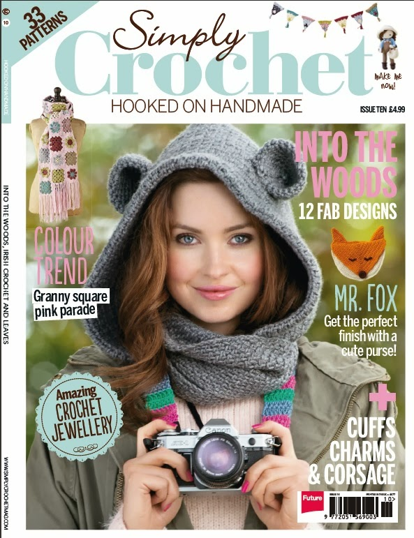... Crochet Magazine excerpted one of the patterns from Blueprint Crochet