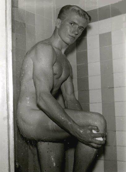 Men In Shower 12
