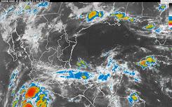 ¡No olvides tu paraguas! Prevén día lluvioso en Cancún