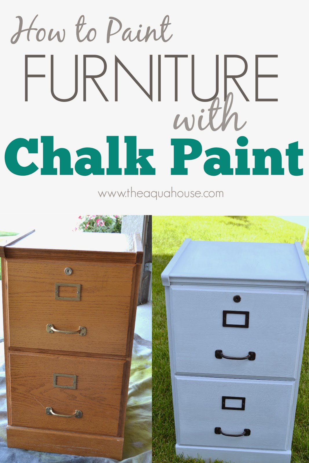 File Cabinet Paint The Aqua House How Paint Furniture With Chalk Paint
