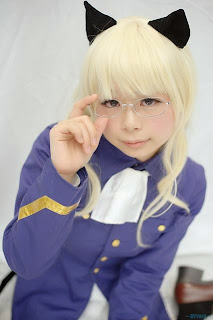 Suu cosplay as Perrine H Clostermann from Strike Witches