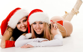 Free Download Christmas Sexy Girls Wallpaper