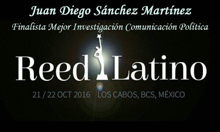 ¡Finalista en los Reed Latino 2016!