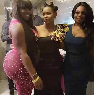the girl seen with Yemi Alade with the big bottom