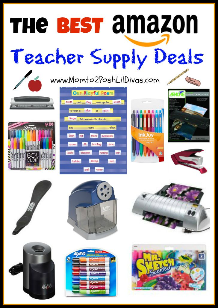 The best amazon teacher supply deals