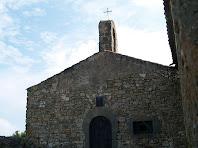 Façana principal de l'ermita de Sant Mateu
