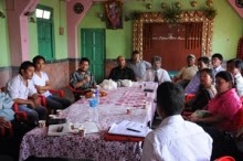 DDUDF meeting in progress in Kalimpong