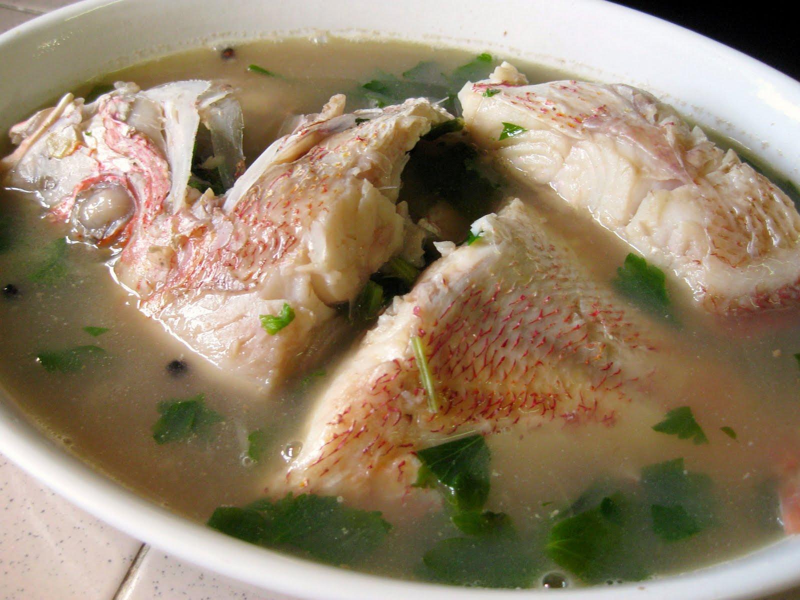 Image result for sup ikan tanpa rempah