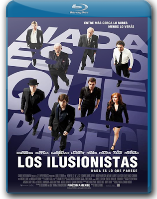 Los Ilusionistas (2013) 1080p Latino