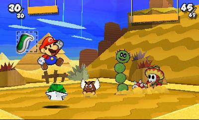Paper Mario Sticker Star Screenshot