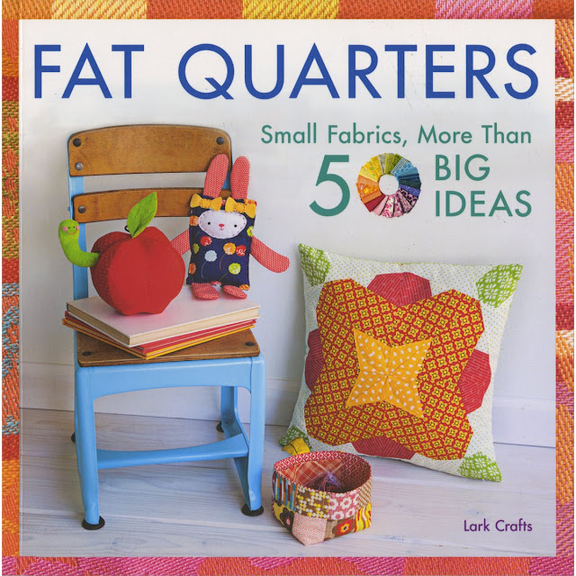 http://www.amazon.com/Fat-Quarters-Small-Fabrics-Ideas/dp/1454708794/ref=sr_1_1?ie=UTF8&qid=1446948070&sr=8-1&keywords=Fat+Quarters+Lark+Crafts