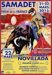 Manolo Vanegas, anunciado en Samadet, Francia el 22/03.