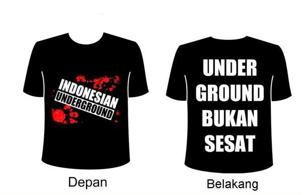 Tsirth Indonesian underground - Underground bukan sesat