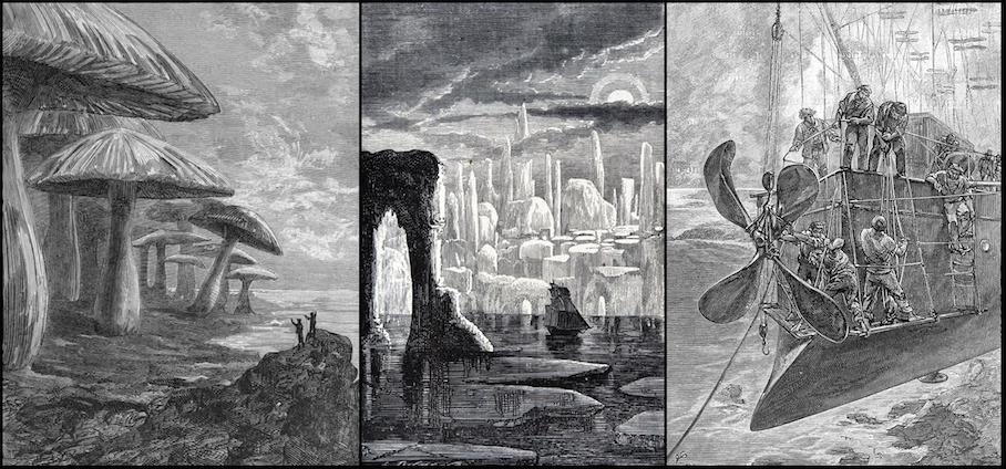Poplitiko One Of The Pioneers Jules Verne