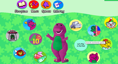 http://pbskids.org/barney/children/games/index.html