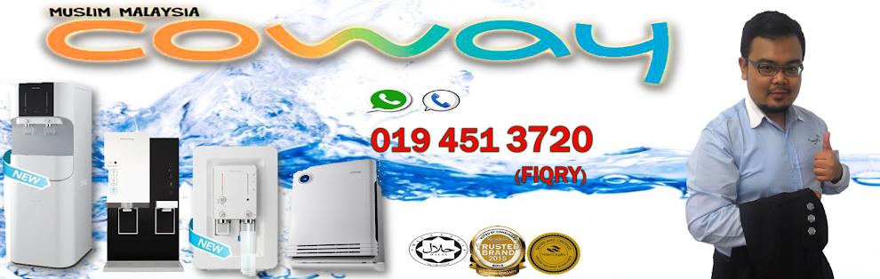 COWAY- Penapis Air termaju  No.1 Pilihan Famili Malaysia