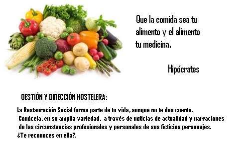 GESTIÓN Y DIRECCIÓN HOSTELERA