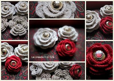 Le Creazioni Di Cris Di Tutto Un Pò Rose A Crochet Con Schemi