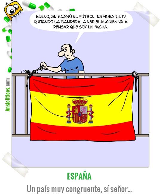 Chiste de España Bandera Española