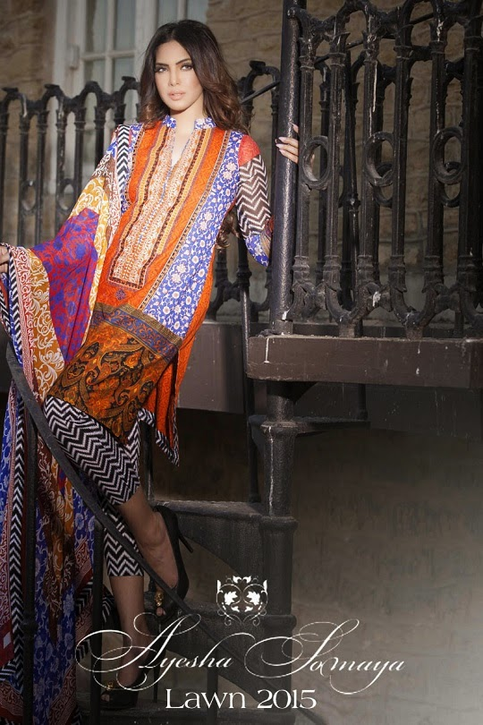 New-ayesha somaya-collection 2014