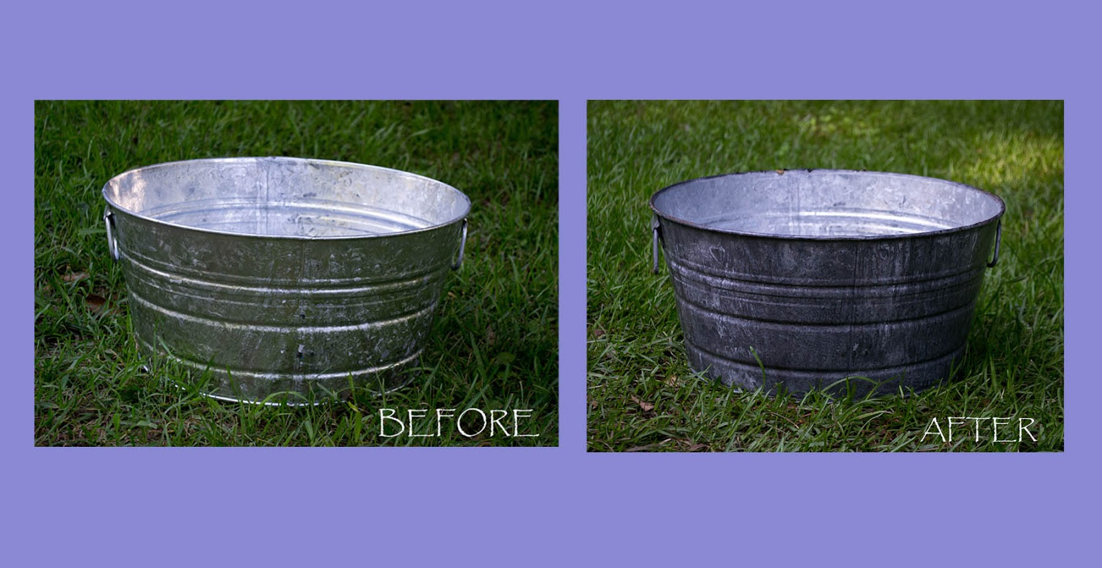 The Vintage Depot: How to Age Galvanized Metal