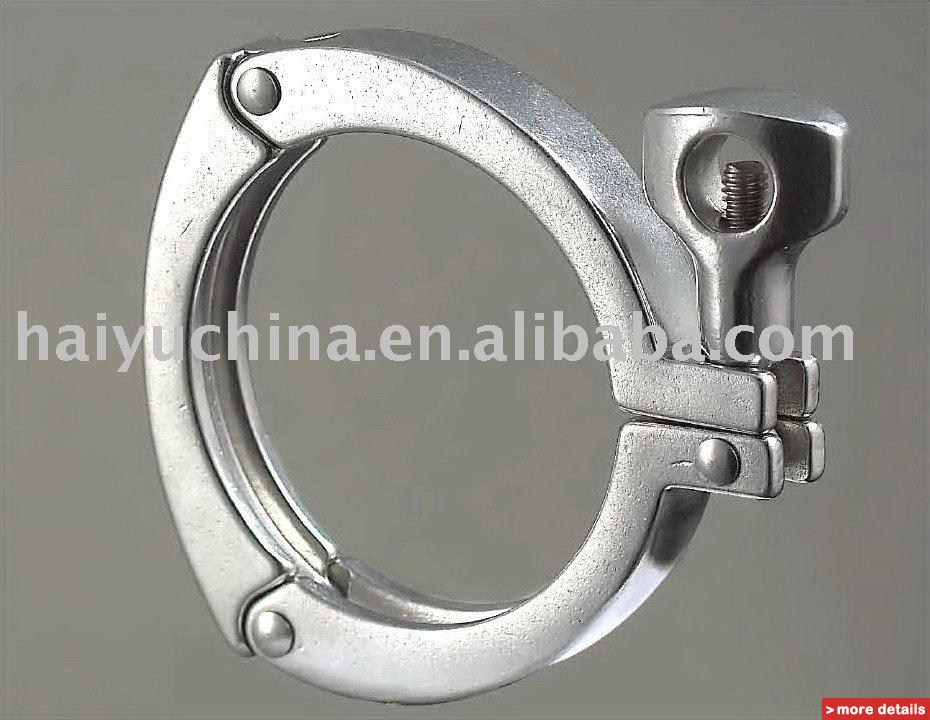 Stainless steel pipe clamps