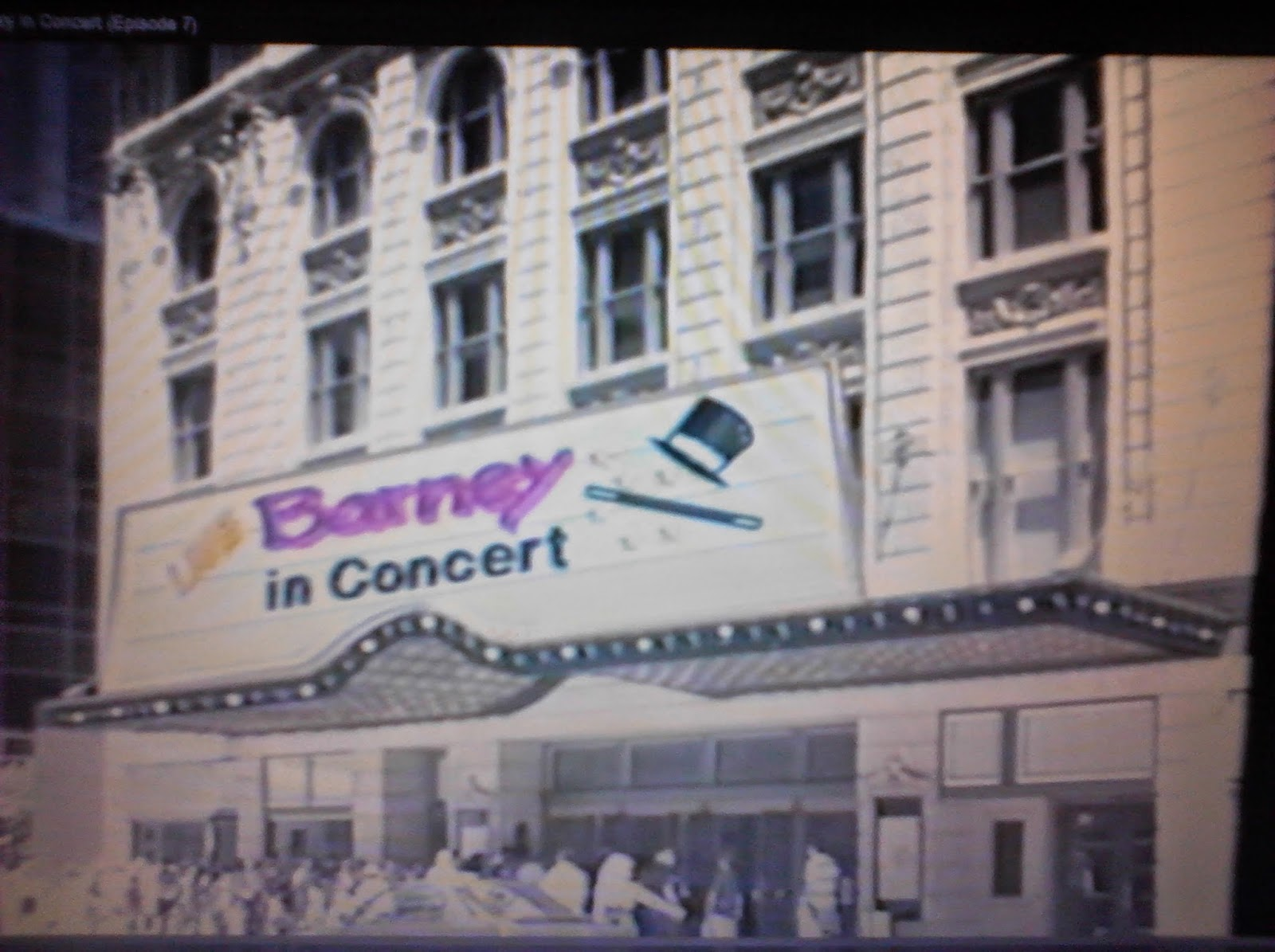 Whatsoever Critic Barney In Concert Video Review - Barney concert vhs