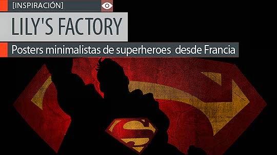Posters de superheroes por LILY'S FACTORY