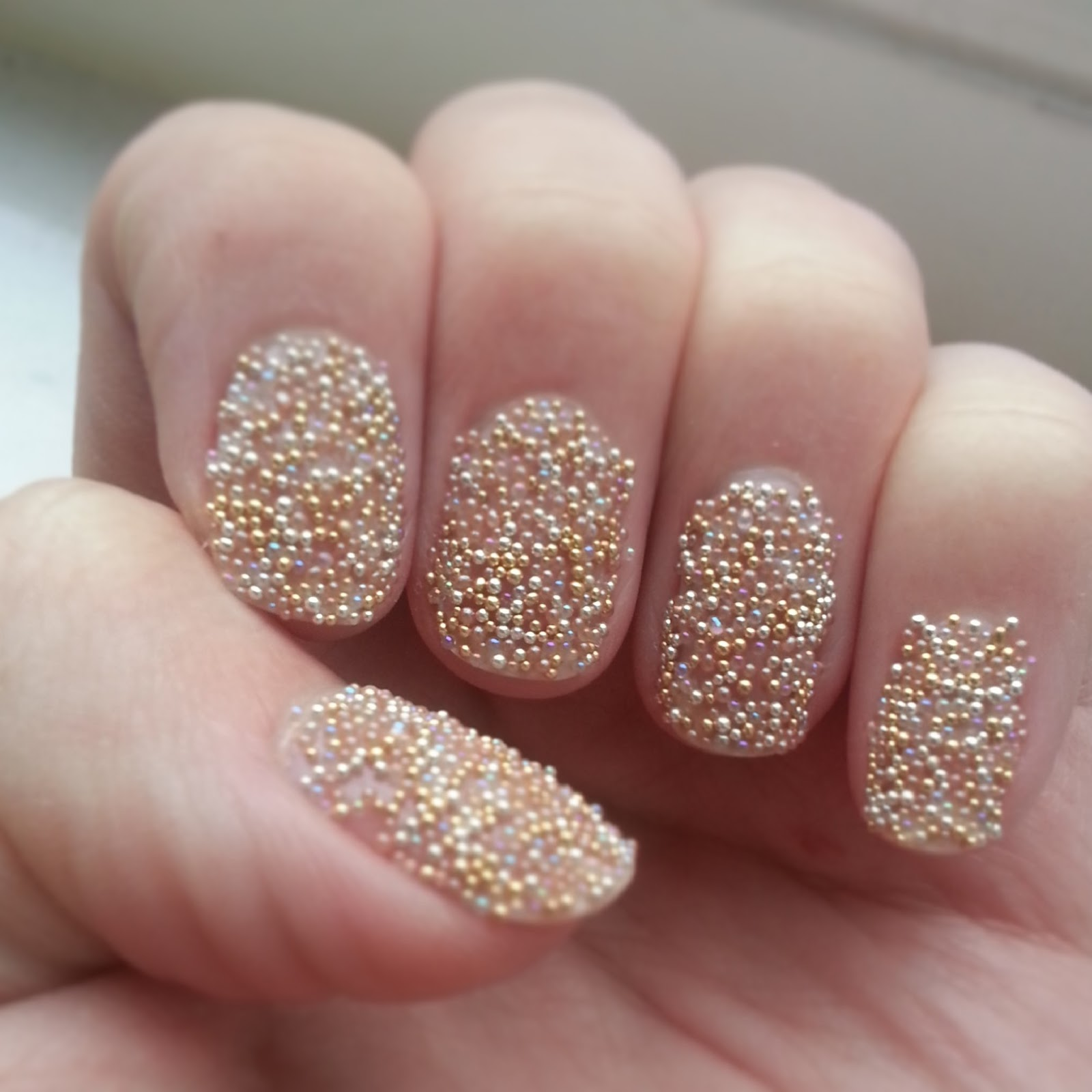 Ciate Bead Nails: Ciate Caviar Nails!