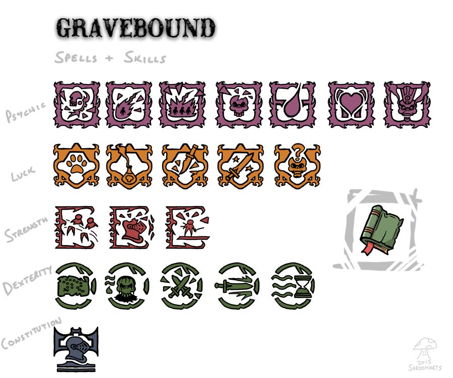 gravebound spells and skills