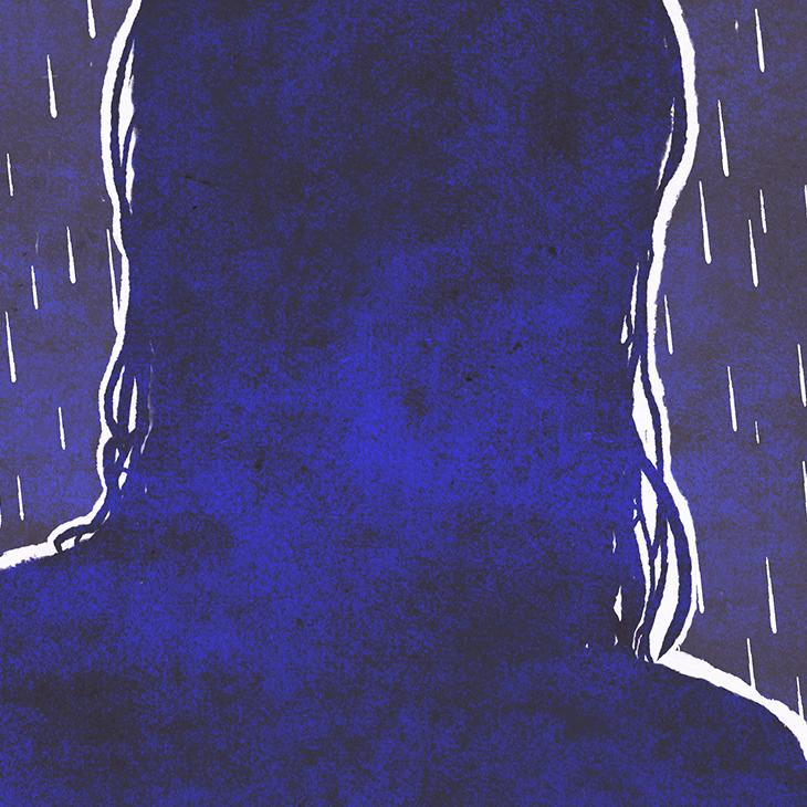 Blaustern – eine kurze Geschichte von Lukas und Gwen. Illustration © fieberherz.de